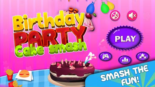 Birthday Party Cake Smash