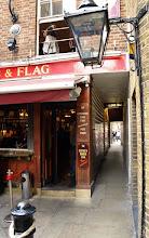 Photo: London Alley by Lamb & Flag pub