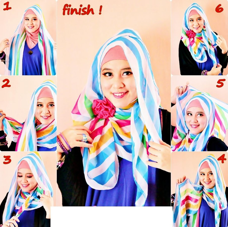 Tutorial Hijab Modern Apl Android Di Google Play