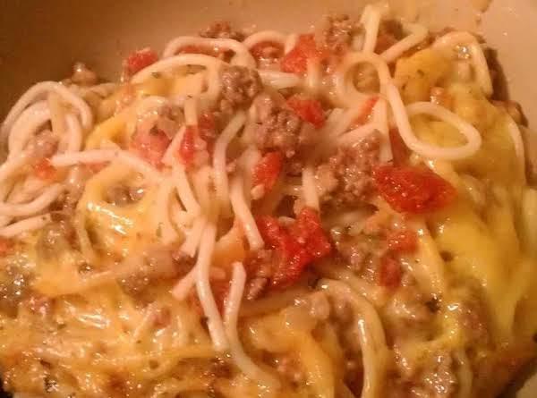 Grandma's Baked Spaghetti