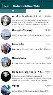 Reykjavik Culture Walks- screenshot thumbnail