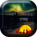 Camping Travel Live Wallpaper icon