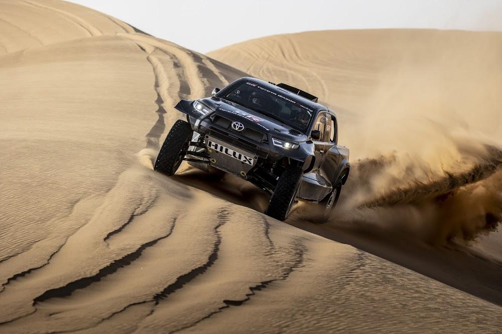 Toyota announces four-crew team and new GR DKR Hilux T1+ for Dakar 2022