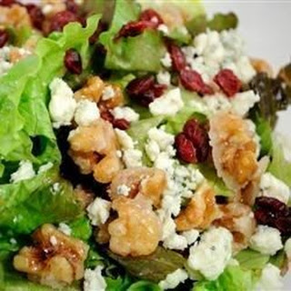 Gorgonzola Walnut Cranberry Salad Recipes