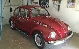 Volkswagen Beetle Rent Praha