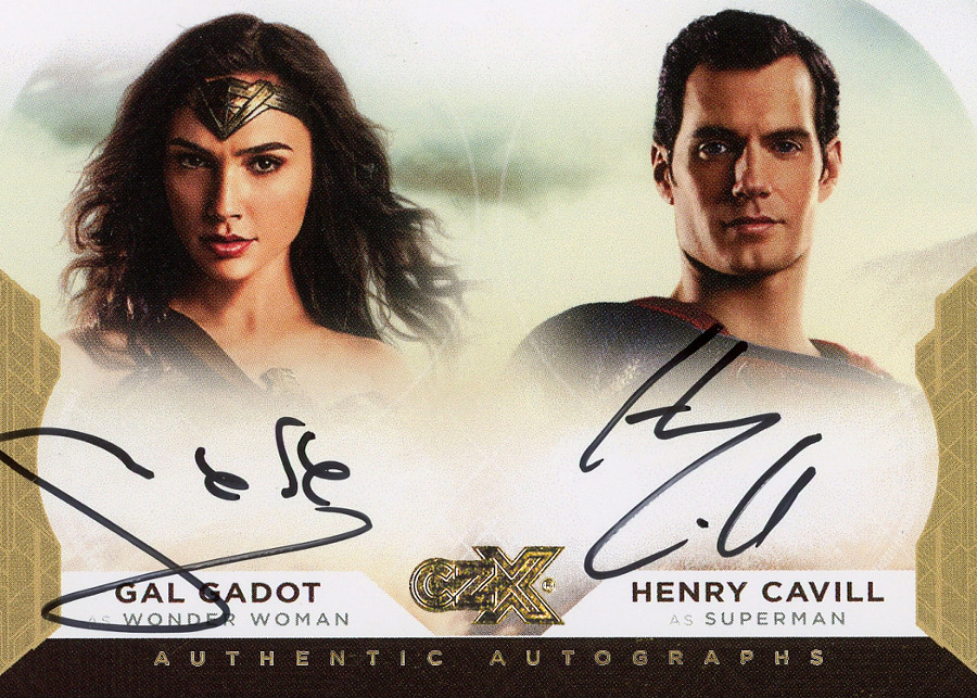 CZX Super Heroes & Super-Villains - Autograph Card