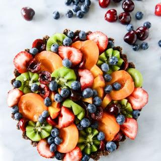 Summer Fruit Tart.
