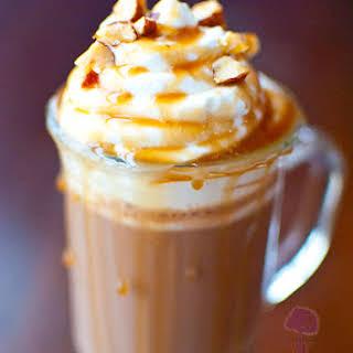 Boozy Hazelnut Turtle Hot Chocolate.