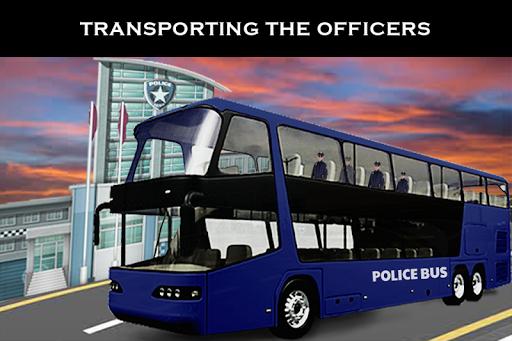 警察バス市