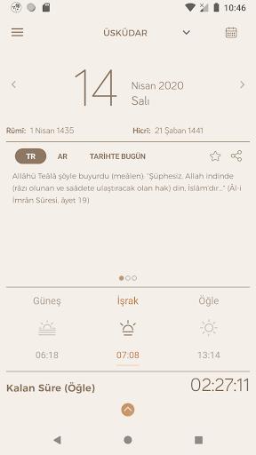 Fazilet Calendar 2020 screenshot 2