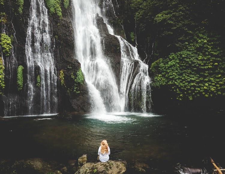 Gambar Banyumala Twin Waterfall