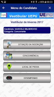 Vestibular UEPG - náhled