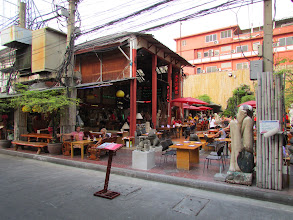 Photo: Lots of cafes with patio seating