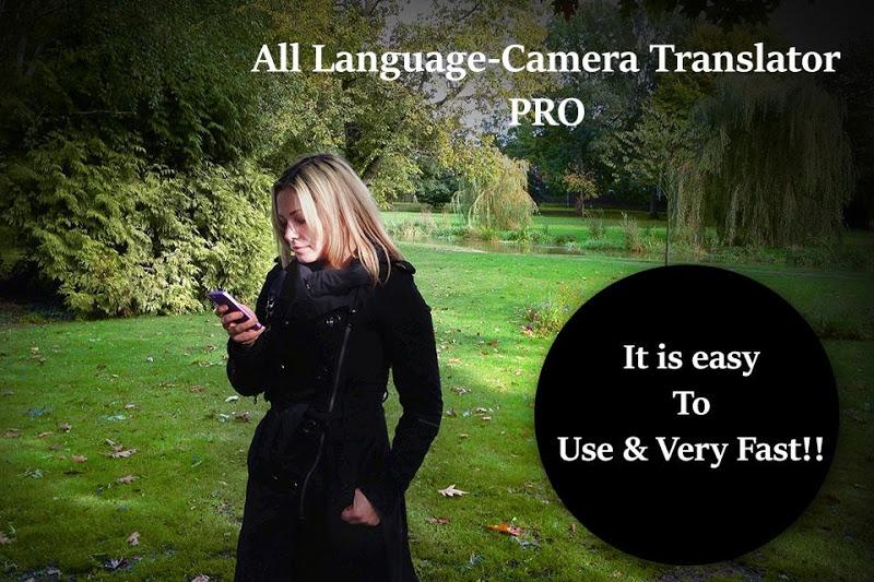 All Language-Camera Translator PRO Screenshot 4