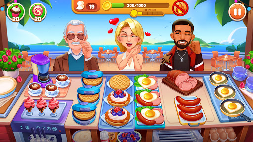 Cooking Dream: Crazy Chef Restaurant Cooking Games  screenshots 1