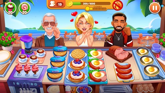Cooking Dream: Crazy Chef Restaurant cooking games 1