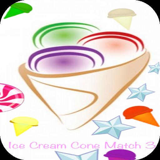 Ice Cream Cone Match 3