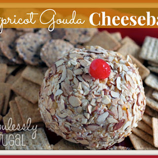 Apricot Gouda Cheeseball.