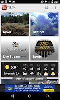 Screenshot of WSAV Mobile