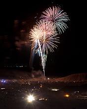 Photo: 50th Anniversary Fireworks over Tierra Del Sol 4WD Club