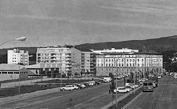 Photo: Campolongo anos 70 sen as torres dos edificiós