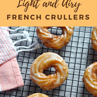 Light and Airy French Crullers.