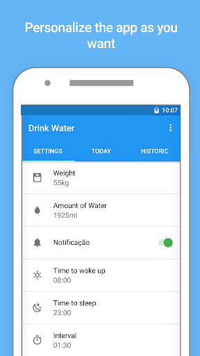 Water Drink Reminder and Alarm 2.6 screenshots 5