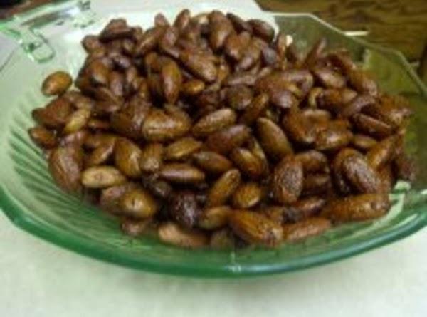Roasted Raw Almonds Recipe