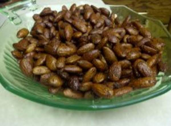 Roasted Raw Almonds Recipe