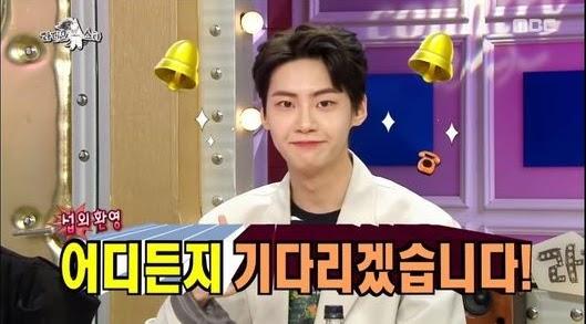 jinhyuk radio star1