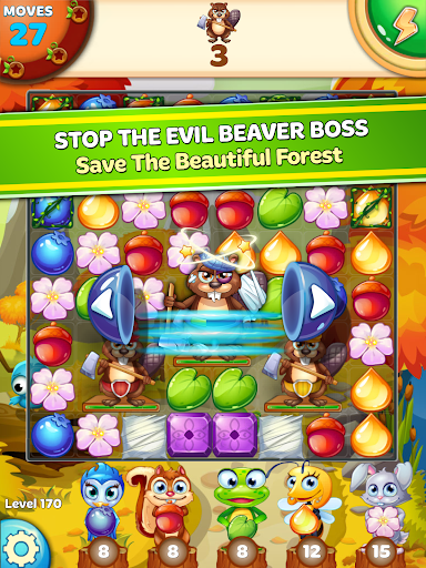 Forest Rescue: Match 3 Puzzle 12.0.3 9
