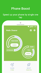 Walle Cleaner- Junk cleaner & Speed Booster - náhled