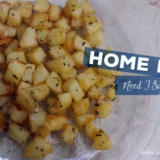 Make Crispy Home Fries in the Oven