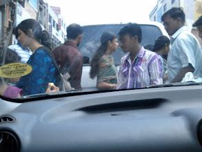 Photo: Around town with Madhavan and Maha