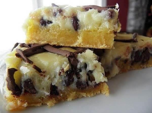 Chocolate Chip Gooey Butter Cake Recipe