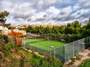 Photo: Terrains tennis privés