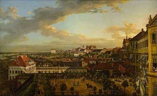 View of Warsaw from the Terrace of the Royal Castle - Bernardo Bellotto called Canaletto - Google Cultural Institute
