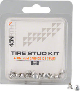 45NRTH Aluminum Carbide Concave Replacement Studs 25 Pack Thumb