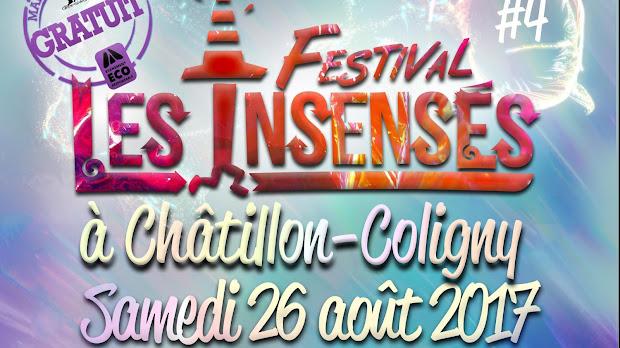 festival les insensés à chatillon coligny créateur français