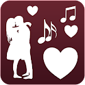 Romantic music songs hits love icon