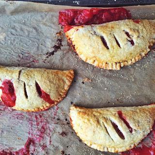 Vanilla Bean, Red Berry + Rhubarb Hand Pies
