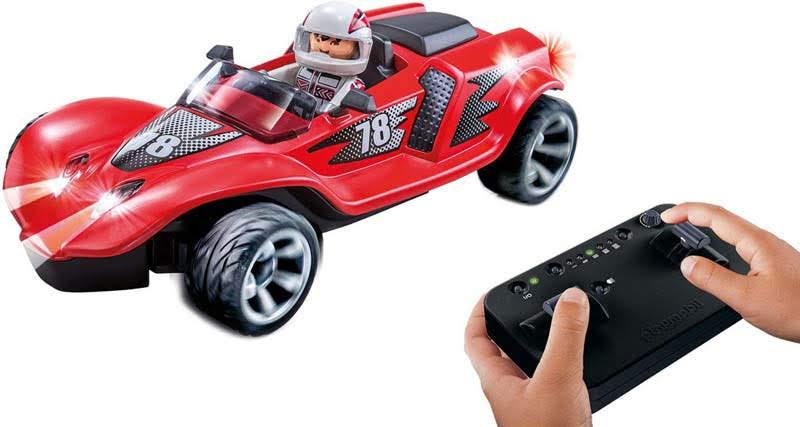 Contenido real de Playmobil® 9090 Racer Cohete RC