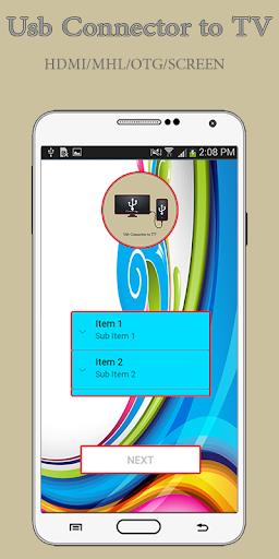 Phone Connect to tv-(usb/hdmi/mhl/otg connector) screenshot 2