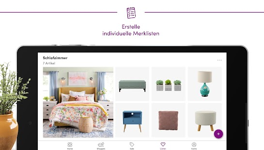 Wayfair – Möbel, Deko & mehr Screenshot