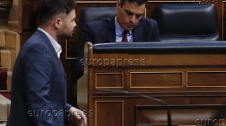 Gabriel Rufián, líder de ERC en el Congreso de los Diputados