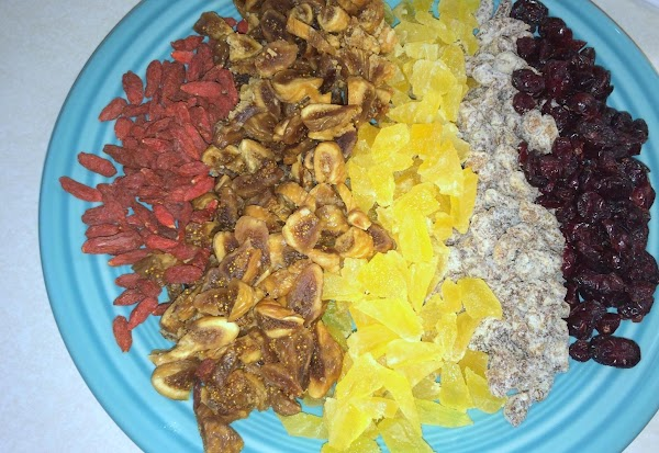 January 24th, 2015 --- Made a double batch of granola to share with family...