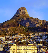 Photo: Lion's Head, as seen from our hotel room. (http://en.wikipedia.org/wiki/Lion's_Head_(Cape_Town))