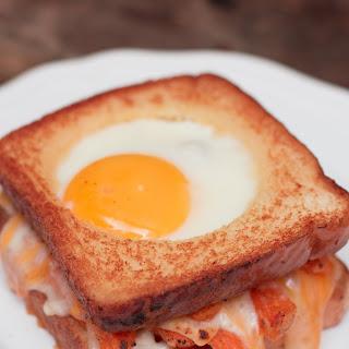 Grilled Cheese & Sweet Potato Breakfast Sandwich.