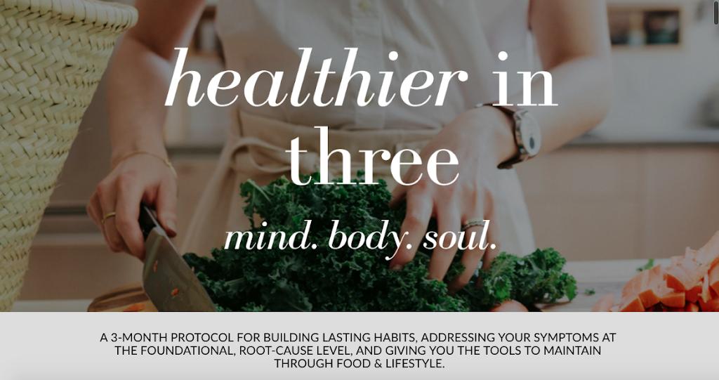 Healthier in Three