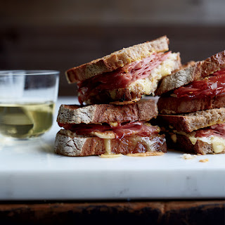 Mortadella Reubens with Lemon Aioli